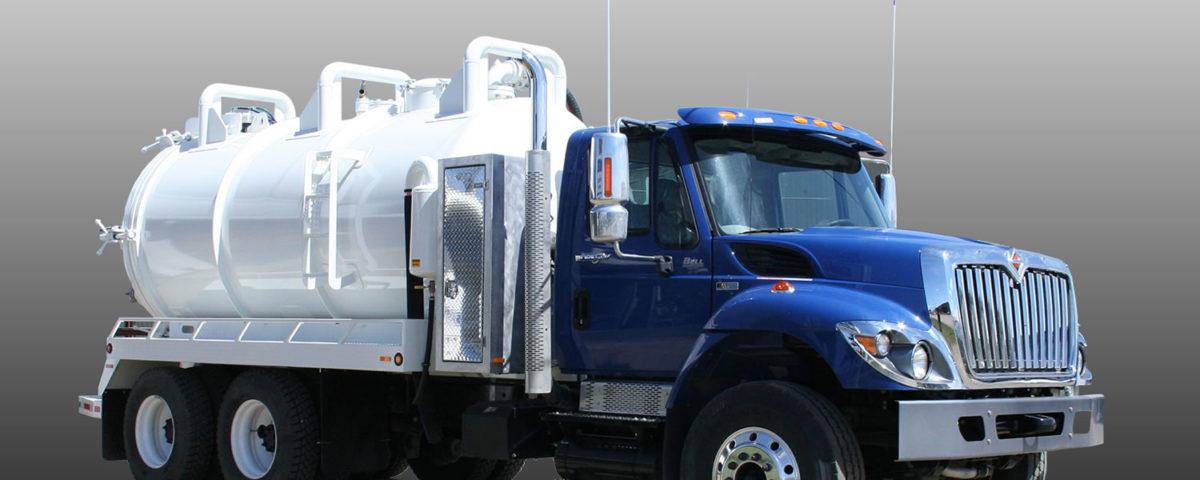 Succion y transporte de aguas residuales